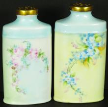 VICTORIAN PORCELAIN TALC CONTAINERS
