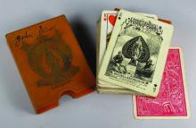 THE RUSSELL & MORGAN CO. SPORTSMAN PLAYING CARDS