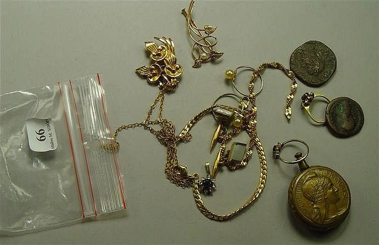 Bijoux Fantaisie Jewelry : Lot de bijoux fantaisie bagues broches et bracelets