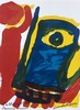 Bengt LINDSTRÖM (1925-2008) Deux cartes de vœux « Bonne année » dans deux s, Bengt Lindstrom, €50