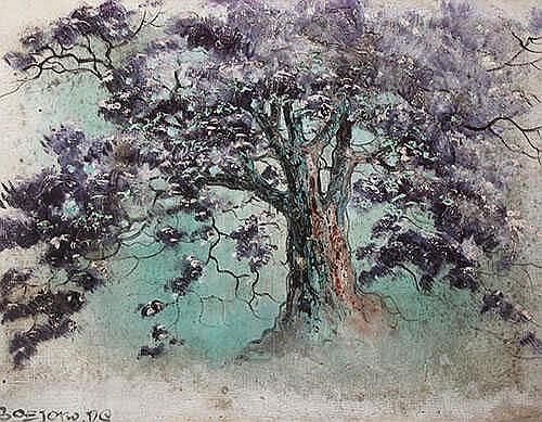 Soejono Ds., S (1930 - Jakarta, 1982) The Tree
