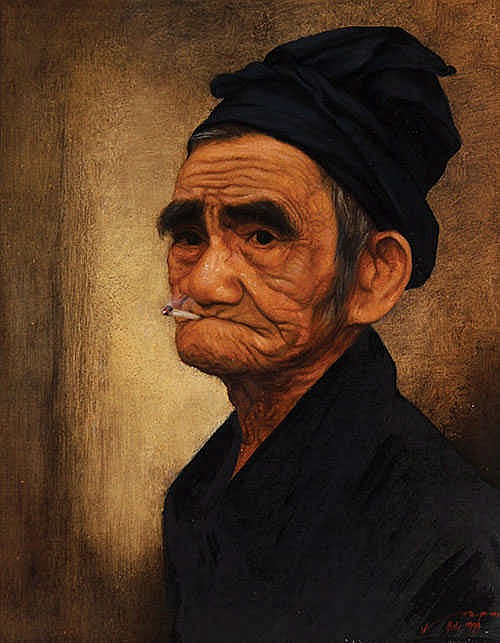 Kok Poo (b. Ambarawa, C. Java, 1937) Kakek