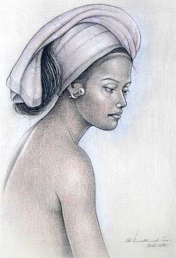 Lotra, I Wayan (b. Bali) Wanita Bali 1 1989