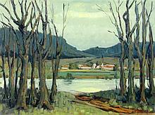 THEVENON, JEAN France, 20thcentury View of a