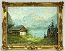 HARTMANN, HEINZ German landscape painter ca. 1900