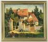 EBERHARDT, HEINRICH Original title: ''Vorhaus von Schloss Brenz''., Heinrich (1919) Eberhardt, €180
