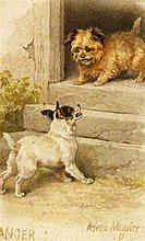 MAGUIRE, HELENA London 1860 - 1909 ''Danger''