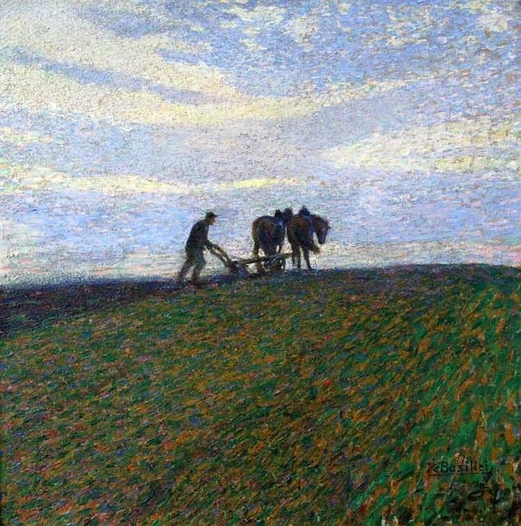 BASILICI, ROBERTO Italian painter 1882 - 1929