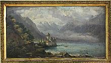 LANDSCAPE PAINTER Switzerland, 19th century