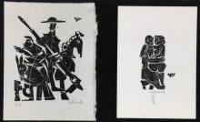WILLAND, DETLEF Heidenheim 1935 Don Quixote and