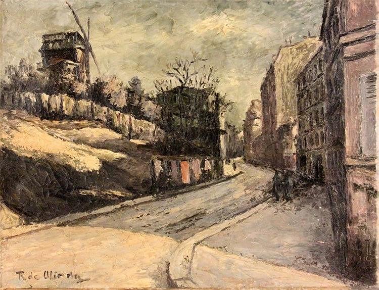 OLINDA  RENE PIERRE DE OLINDA  RENE PIERRE DE Parisian paint
