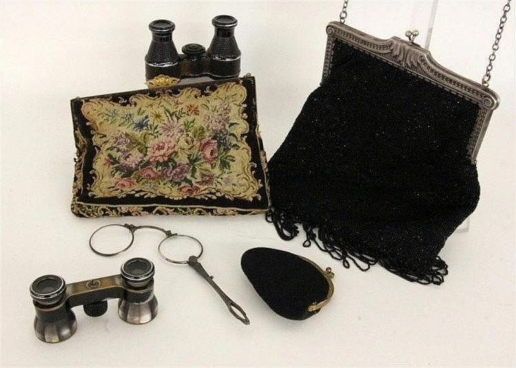 A LOT OF THEATRE ITEMS ca. 1900 Consisting of 2
