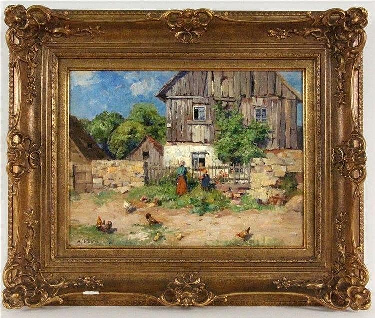 THAMM, GUSTAV ADOLPH Dresden 1859 - 1925 Rural