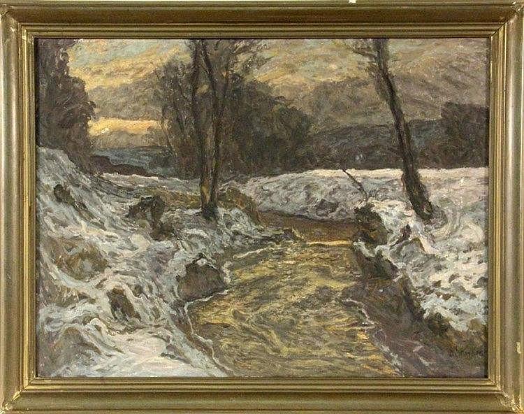 STARKER, ERWIN Stuttgart 1872 - 1938 Snowy