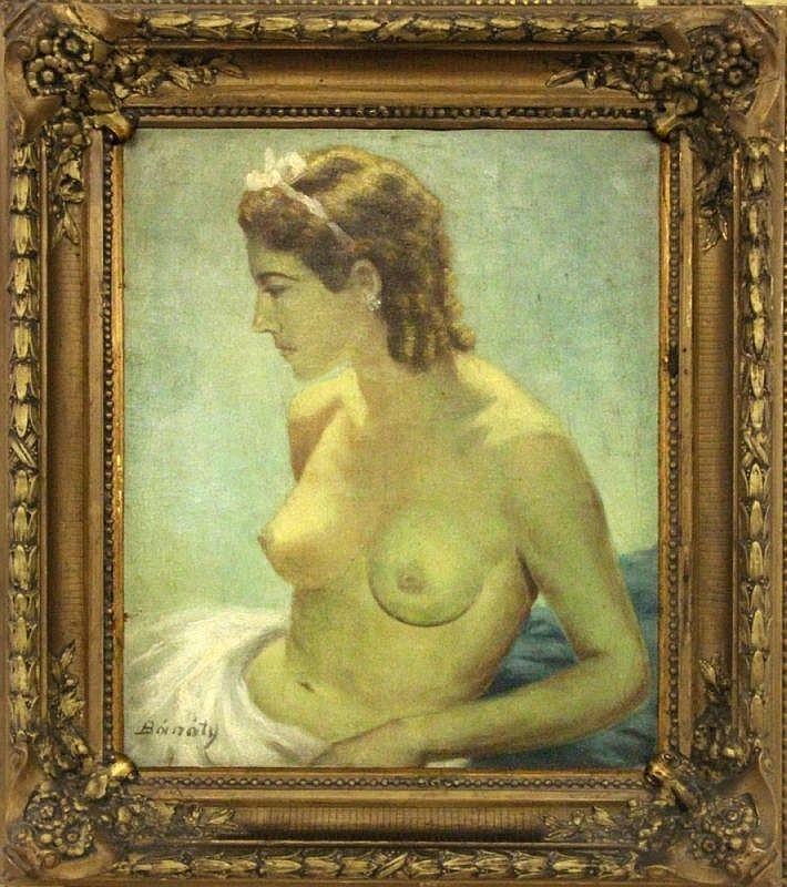 BANATI SVERAK, JOZSEF Hungarian painter 1897