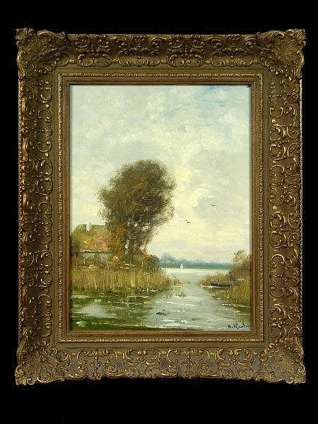 REUTER, HELMUT Duesseldorf 1913 - 1985 Landscape
