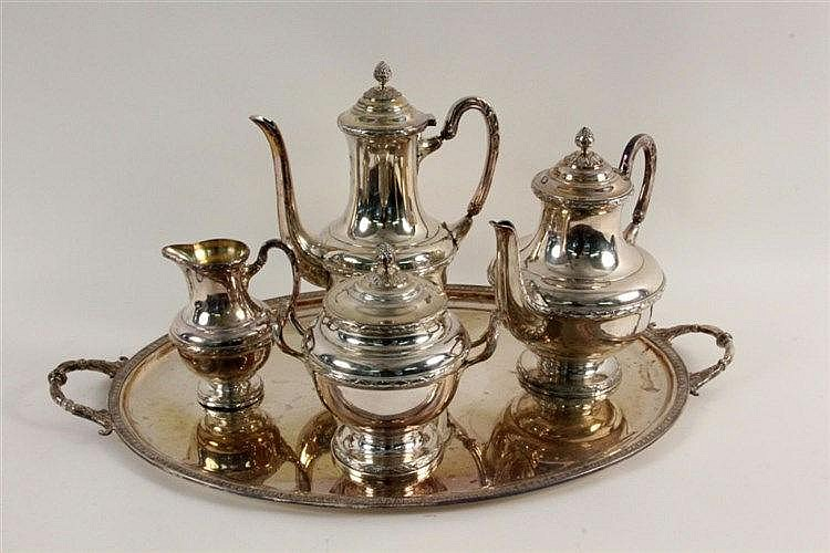AN ERCUIS TEA AND COFFEE SERVICE Paris ca. 1922