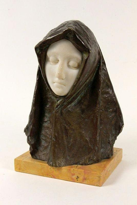 NERI, AMEDEO Italy ca. 1906 A bronze and