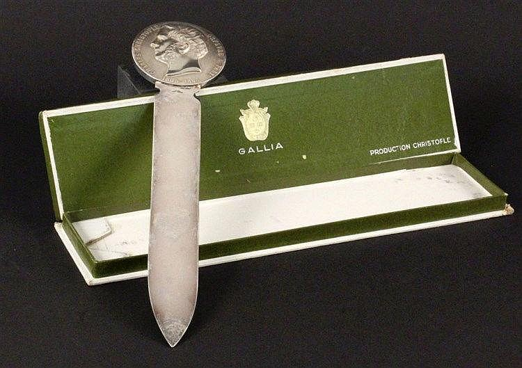 A CHRISTOFLE LETTER OPENER Paris, 20th century