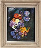 GIRO Spanish painter, 20th century Bouquet of