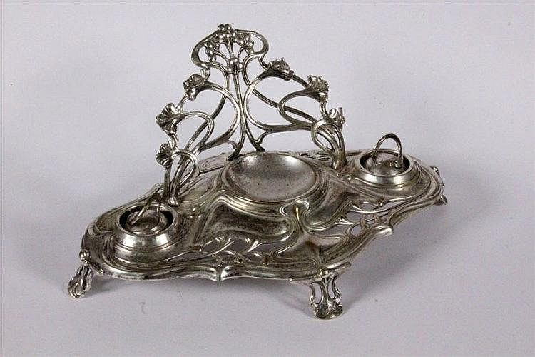AN ART NOUVEAU PEN HOLDER WMF, Geislingen ca