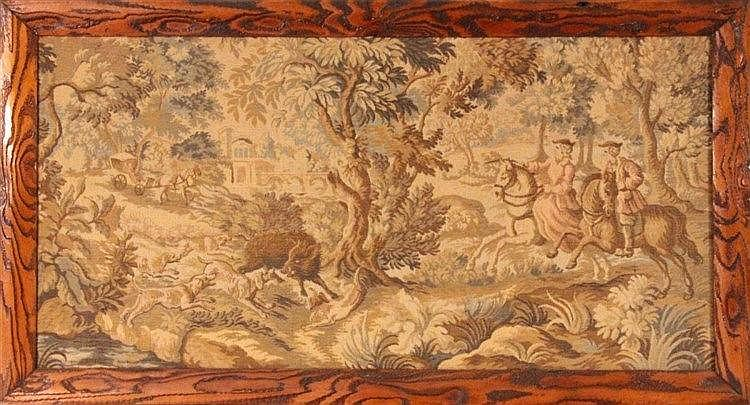 A TAPESTRY France, 19th/20th century Rococo