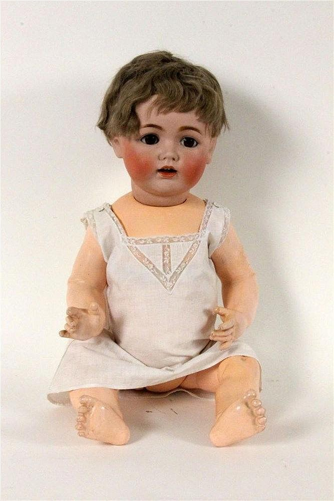 A BISQUE DOLL J.D. Keestner 257, ca. 1916 Bisque
