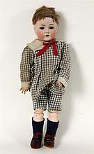 A BISQUE DOLL Kaemmer and Reinhardt, Simon and