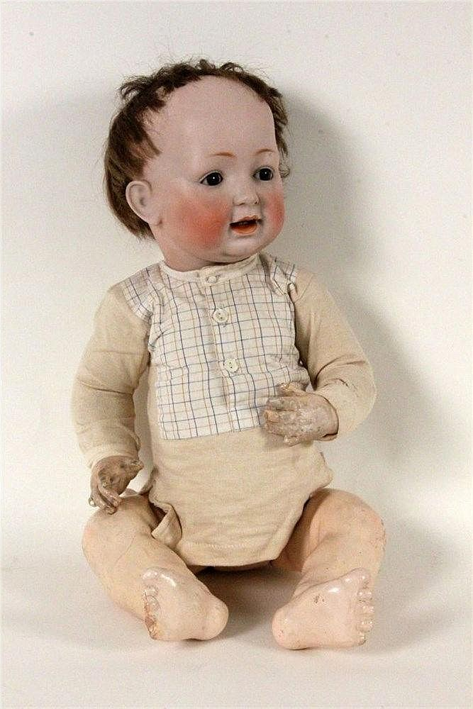 A BISQUE DOLL J.D. Kestner 211, ca. 1912 Bisque