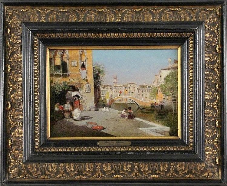 HERRER Y MARCHER, CESAR Luarca/Spain 1868 - 1919