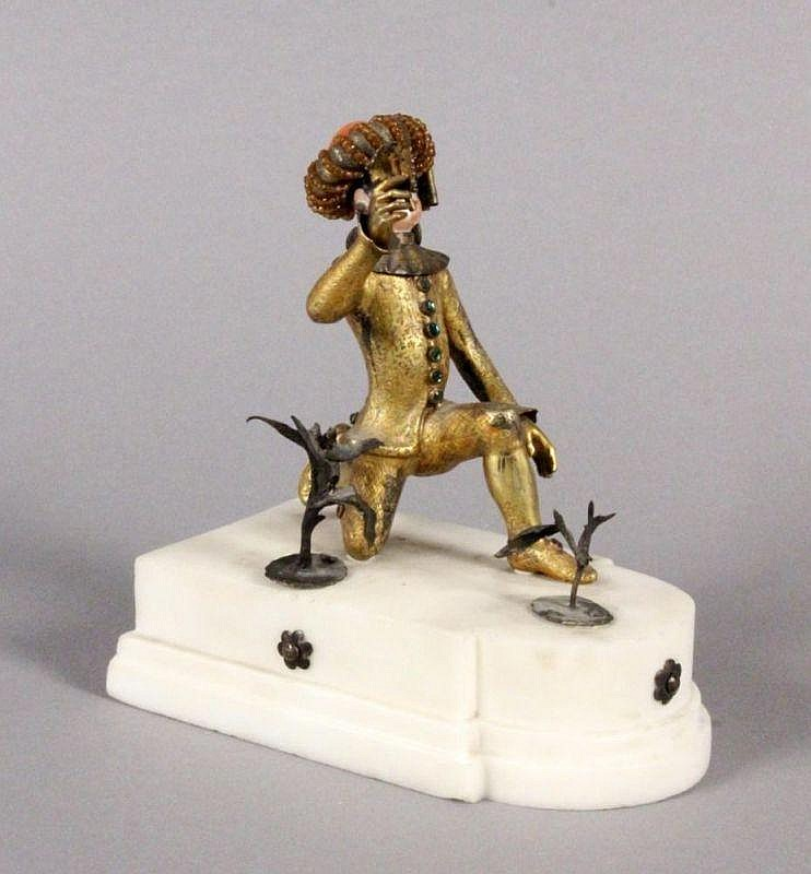 A VENETIAN COMEDY FIGURE probably Italy, 18th