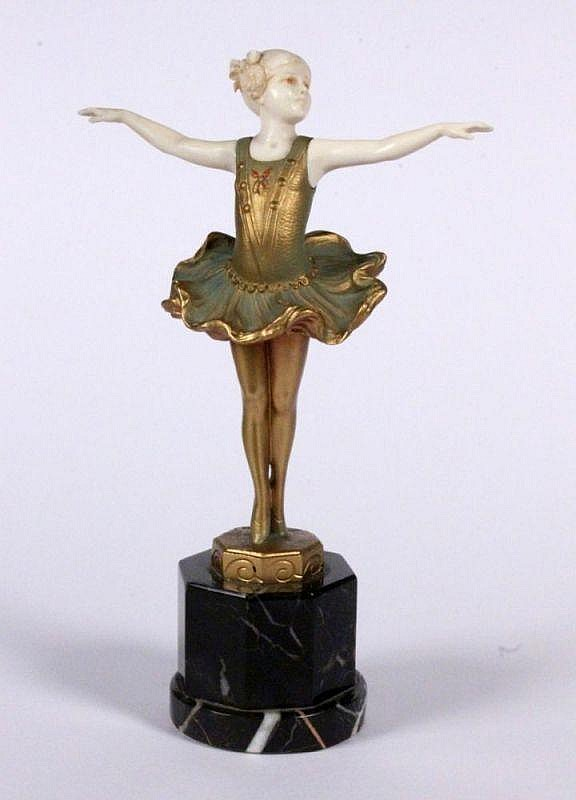 Erbach 1882 - 1943 Berlin Young female dancer