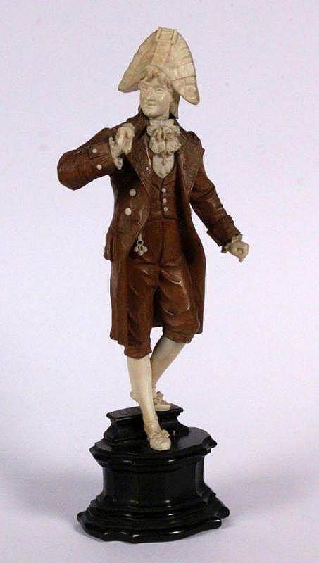 UNKNOWN SCULPTOR 19th century Fashionable dressed