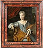 BAROQUE PAINTER ca. 1750 Half length portrait of