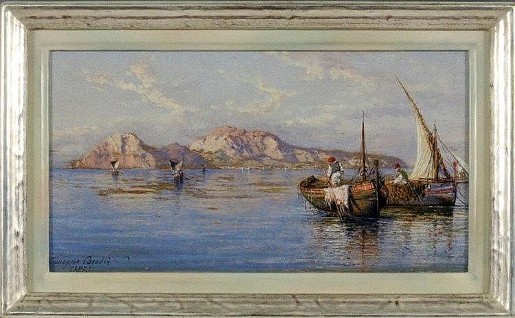 CARELLI, GIUSEPPE Napoli 1858 - 1921 Portici