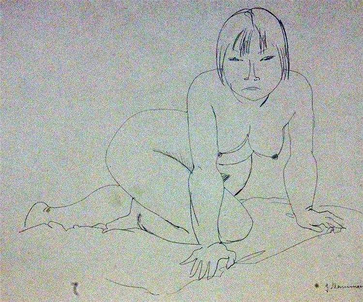 MAMMEN, JEANNE Berlin 1890 - 1976 Female nude