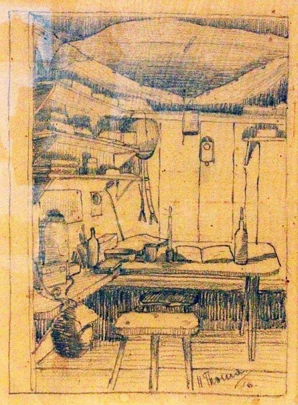 THOMA, HANS Bernau 1839 - 1924 Karlsruhe Shelter