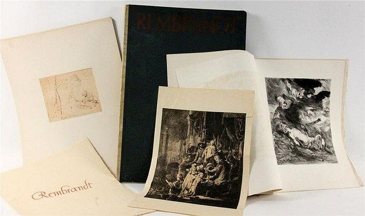 REMBRANDT ART PORTFOLIO ''Religioese Legenden''