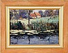A LANDSCAPE PAINTER France, 20th century House at