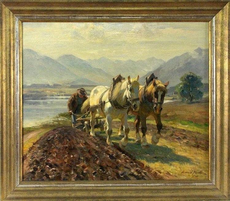 MOELLER, ARNOLD Bueckeburg 1886 - 1963 Bruckmuehl