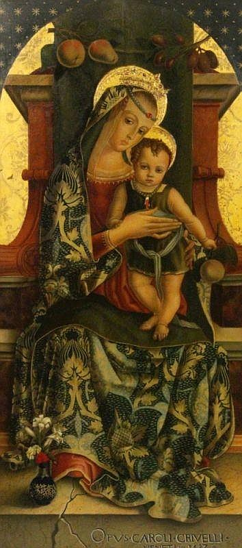 GOCCIA, POMPEO PROF. Roma, 20th century Madonna