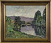 CLARY-BAROUX, ADOLPHE Paris 1865 - 1933 River, Adolphe Clary-Baroux, Click for value