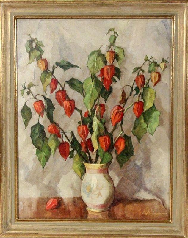 SANNEMANN, PAUL German painter, active ca. 1930