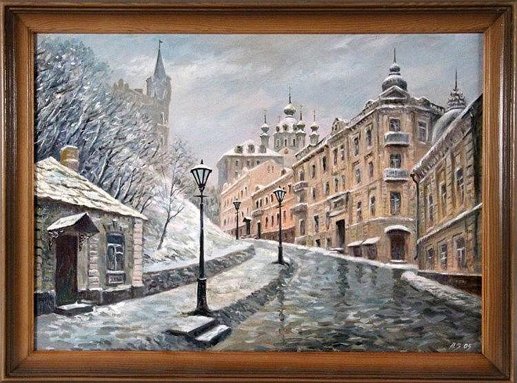SATONATSCHENKOV, A. (?) Ukrainian painter 2005