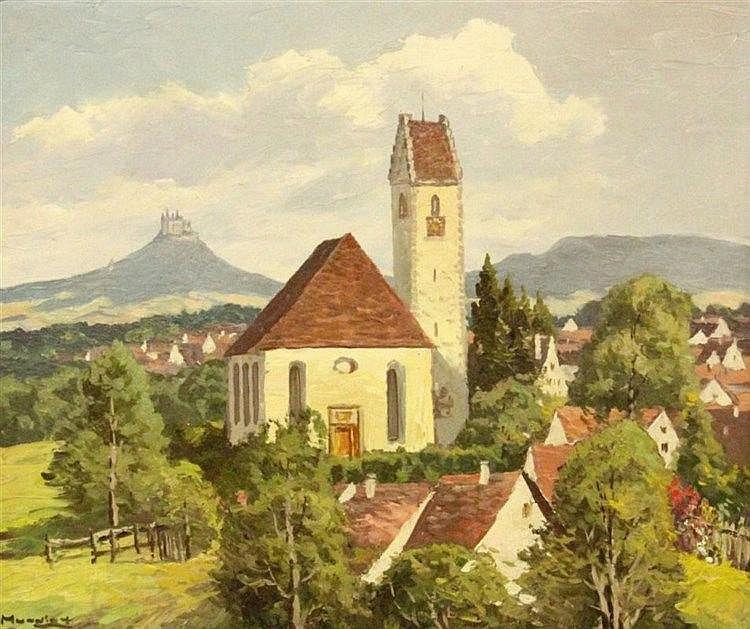 MUNDING, ANTON Guenzhofen 1903 - 1976 Oberndorf