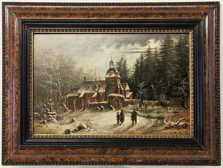 POLLAK, JULIUS JOSEPH Vienna 1845 - 1920 Romantic