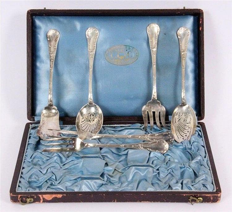 HORS D'OEUVRE CUTLERY Christofle, Paris ca. 1900