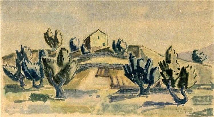GASSEBNER, HANS Blaubeuren 1902 - 1966 Spanish