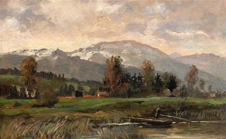 FUHRMANN-RANDECK, GEORG 1892 - 1967 Pre-Alps