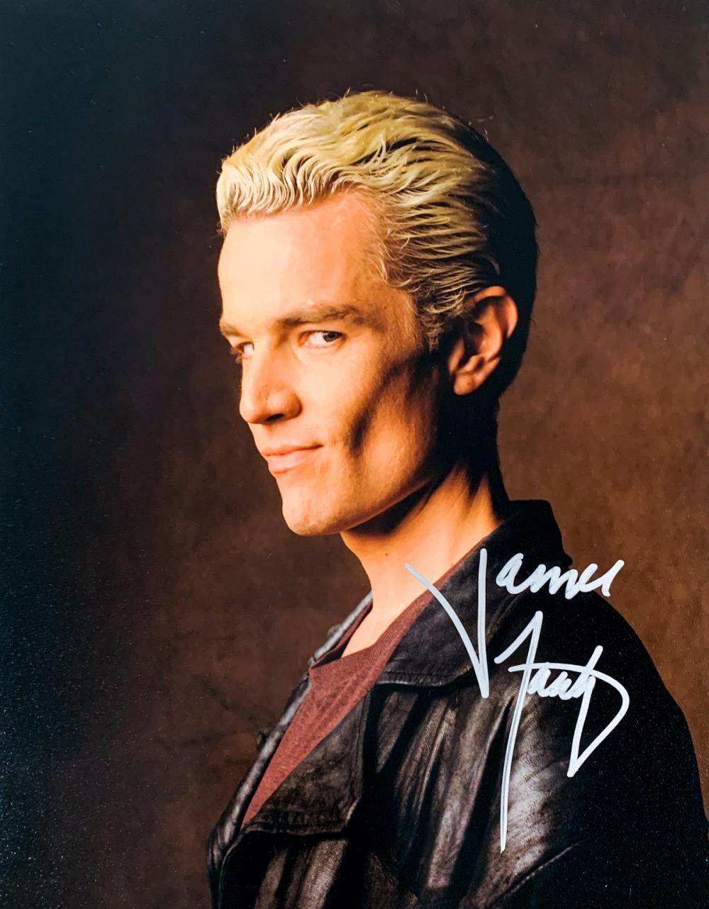 """OFFICIAL WEBSITE James Marsters /""""Buffy the Vampire Slayer/"""" 8x10 AUTOGRAPHED"""